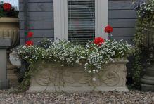 Grand Athena Stone Planter Trough - Large Garden Trough