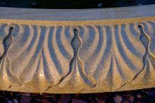 Grand Single Tier 4m Sandstone Stone Water Fountain Feature