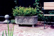 Grand Stone Plant Trough - Large Garden Trough