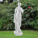 Hebe 80cm Greek Garden Sculpture - Large Marble Statue