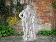 Hercules 165cm Roman Garden Sculpture - Large Marble Statue