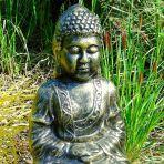 Hindu Buddha Bronze Metal Large Garden Statue