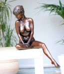 Josephine Bronze Sculpture - Nude Female Modern Figurine