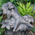 Lazy Pixie Bronze Statue Garden Ornament