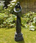 Loving Twist Modern Garden Statue - Large Contemporary Sculpture