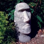 Moai Head Sculpture - Large Easter Island Statue