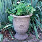 Modena 35 Stone Vase Plant Pot - Large Garden Planter