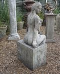 Nude Woman Figurine Stone Sculpture - Large Garden Statue