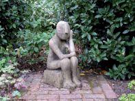 Oliver Modern Stone Statue - Large Garden Sculpture
