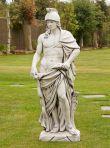 Roman Empire Gladiator Stone Sculpture - Large Garden Statue