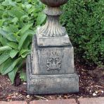 Small Modena Column Pedestal - Stone Statue Plinth