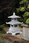 Two Tier Japanese Pagoda Lantern - Chinese Garden Ornament