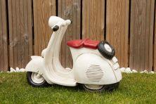 Vespa Lambretta Stone Scooter - Large Garden Ornament