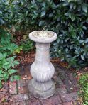 Victorian Brass Stone Sun Dial - Garden Sundial