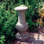 Victorian Stand Column Pedestal - Stone Statue Plinth