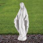Virgin Mary 60cm Religious Sculpture - Marble Garden Statue