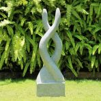 Visage Garden Sculpture Modern Stone Statue