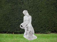 Water Bearer 115cm Greek Garden Sculpture - Large Marble Statue