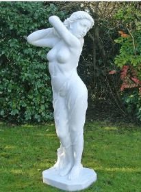 Spring tips from your garden statue